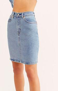 Levi's Core Denim Skirt