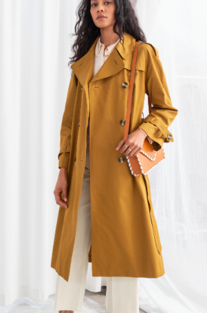 Stories Belted Trench Coat