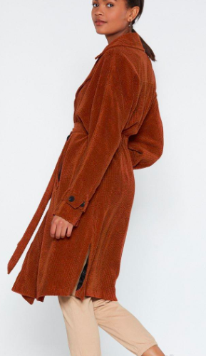 Nasty Gal Cover Story Trench Coat