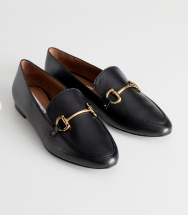 Stories Equestrian Buckle Loafers