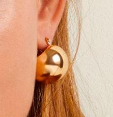 Mango Metal earrings