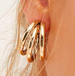 FP Three To Me Hoop Earrings