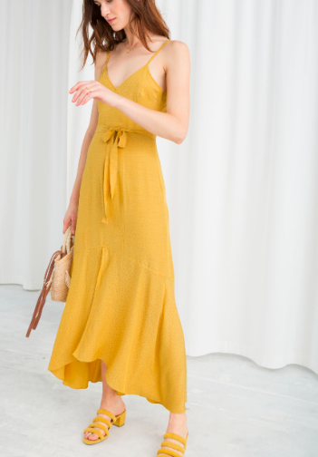 Stories Belted Midi Dress