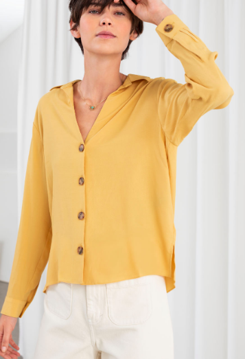 Stories Relaxed Fit Button Up