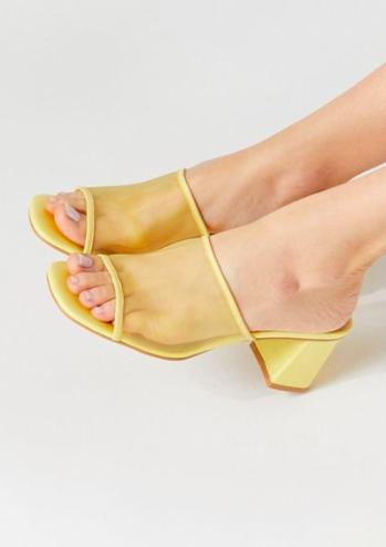 UO Amanda Mesh Mule Sandal