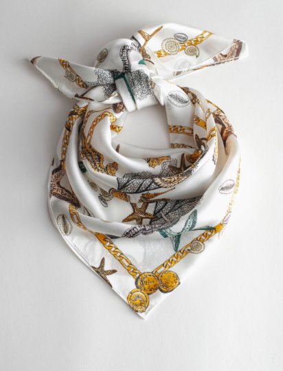 Stories Seashell Scarf