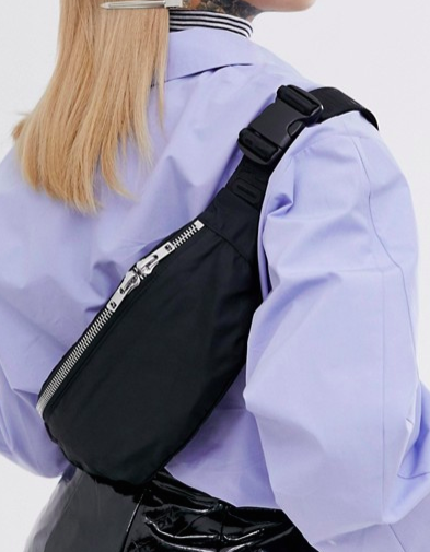 Weekday Resort Capsule mini shoulder bag in blACK