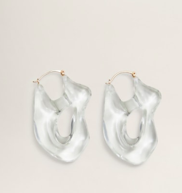 Mango Transparent earings