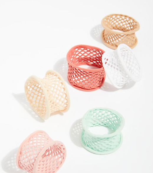 FP Net Hair Tie Pack Of 6