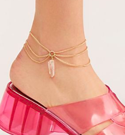 FP Valley Crystal Anklet