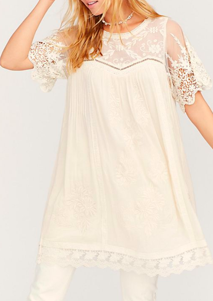 FP Maggie Embroidered Tunic