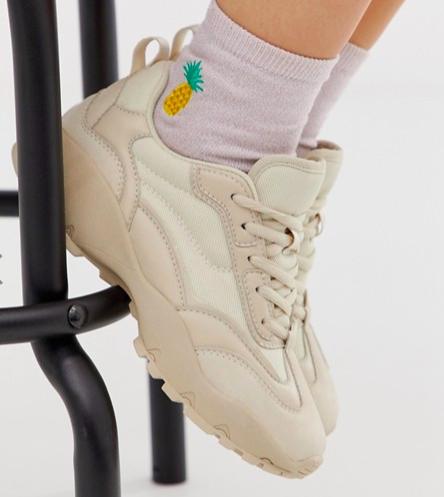 ASOS DESIGN Dominic chunky sneakers