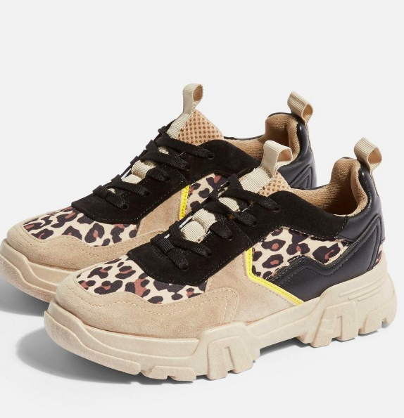 Topshop CASABLANCA Chunky Trainers