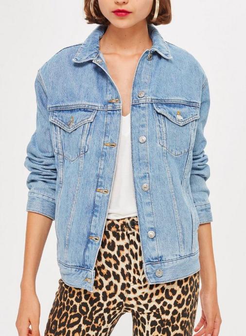 Topshop Oversized Denim Jacket