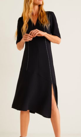 Mango Pinafore dress