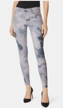 620 Tie Dye Super Skinny Jeans  J BRAND