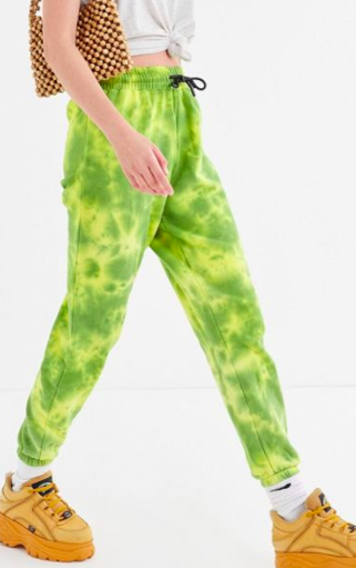 UO Wyn Washed Tie-Dye Jogger Pant