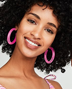 BaubleBar Oval Hoop Earrings