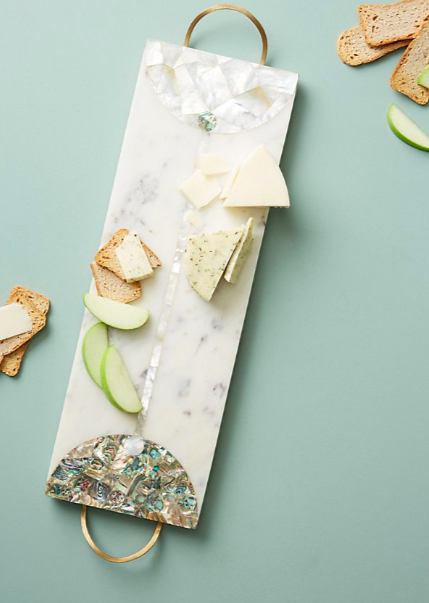 Anthropologie Nina Marble Cheese Board