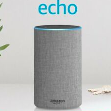 Echo (2nd Generation) - Smart speaker with Alexa