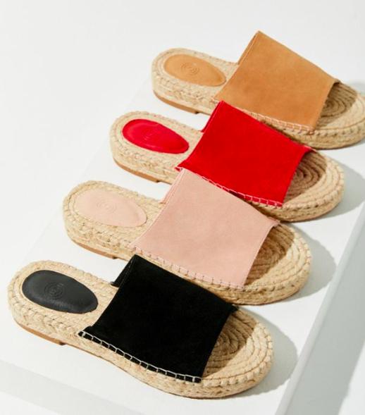 UO Mimi Espadrille Slide Sandal