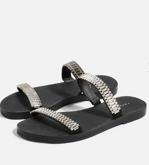 Topshop HITCH Flat Sandals