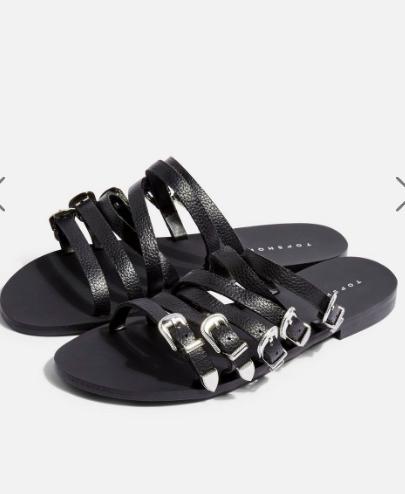 Topshop HESTON Buckle Sandals