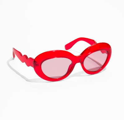 Stories Round Squiggle Sunglasses