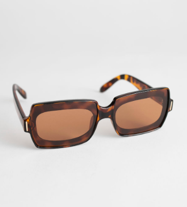 Stories Square Frame Sunglasses