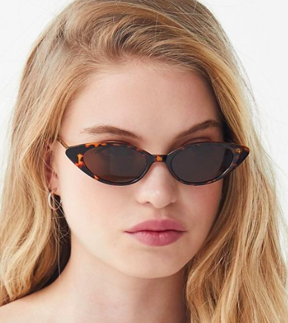 UO Nova Slim Cat-Eye Sunglasses