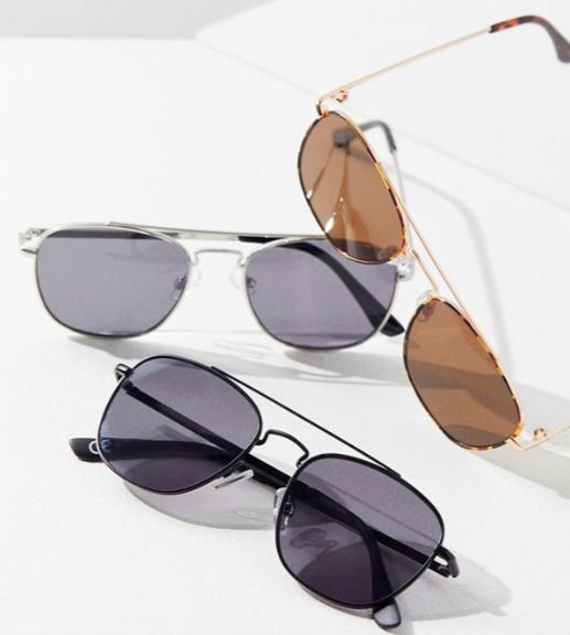 UO Aspen Aviator Sunglasses