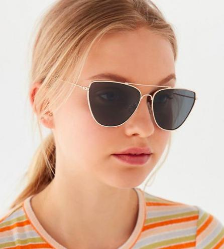 UO Adelia Aviator Sunglasses