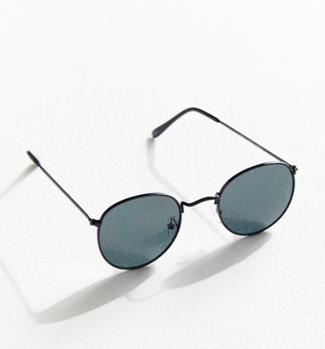 UO Dyllon Metal Round Sunglasses
