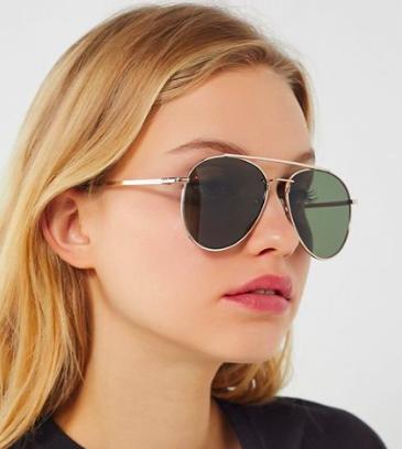 UO Ashland Aviator Sunglasses