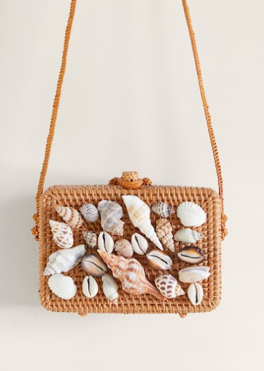 Mango Bamboo shells bag