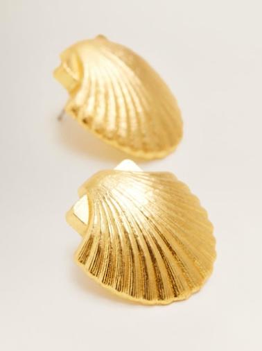 Mango Shell earrings