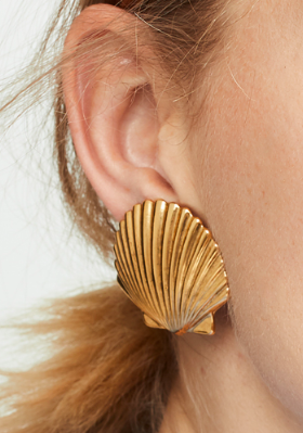 Jennifer Behr Madeleine Shell Earrings
