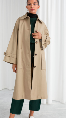 Stories Oversized Utilitarian Trenchcoat