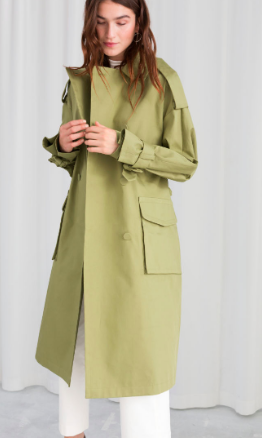 Stories Oversized Belted Trenchcoat