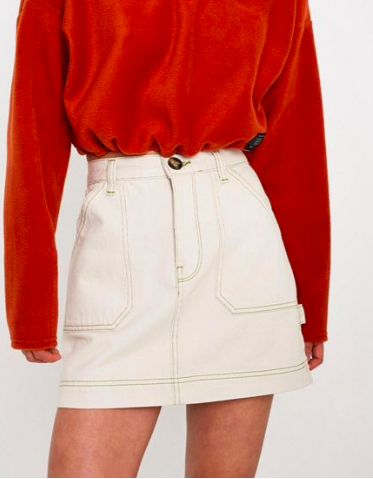 BDG Utility Carpenter Skirt