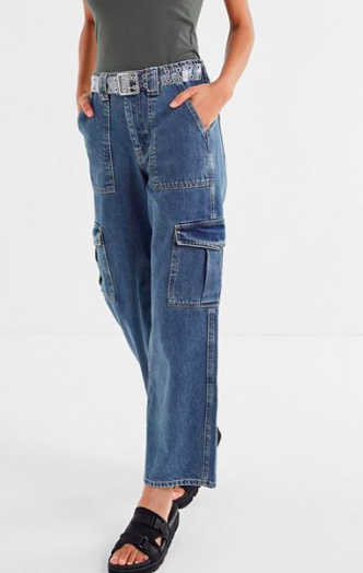 BDG Denim High-Rise Skate Jean