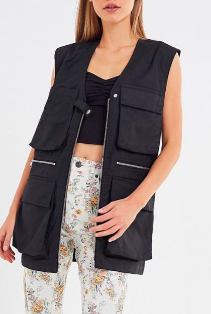 UO Noelle Oversized Cargo Vest
