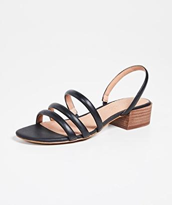 Madewell The Addie Slingback Sandals