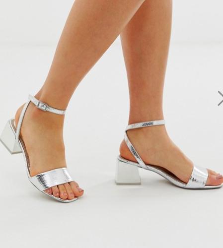 ASOS DESIGN Honeywell block heeled sandals