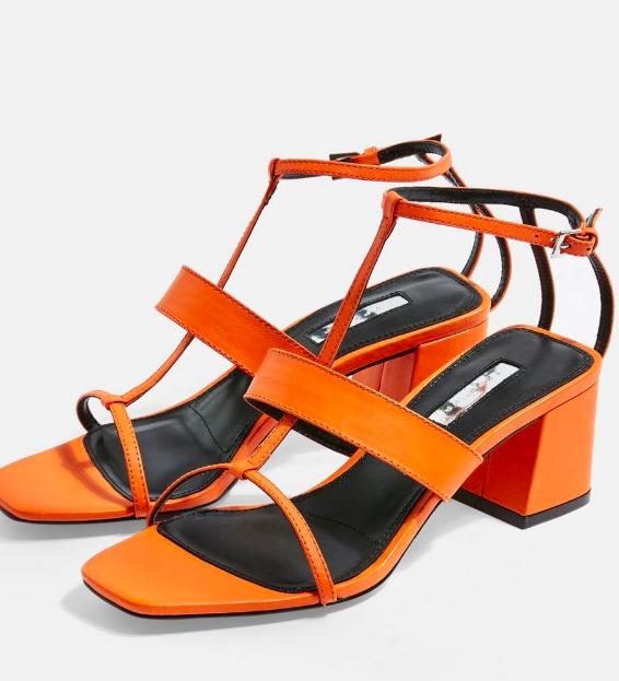 Topshop RIBBON T-Bar Sandals