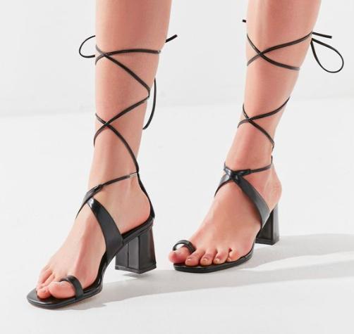 UO Penelope Lace-Up Sandal
