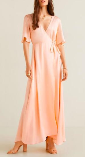 Mango Satin gown