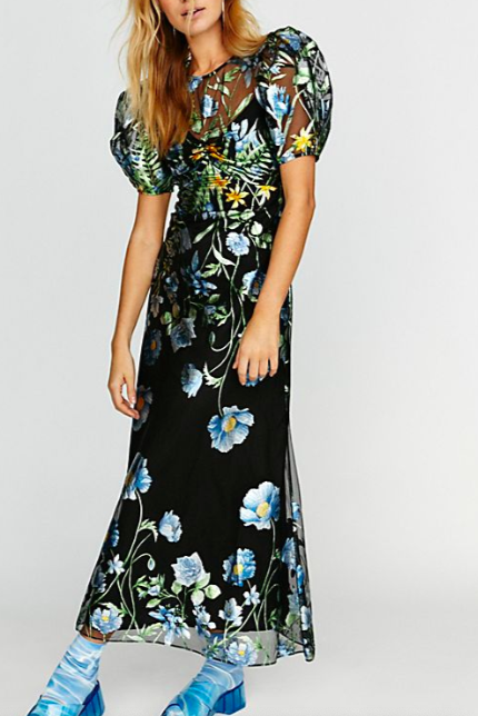 Some Kind Of Beautiful Midi Dress