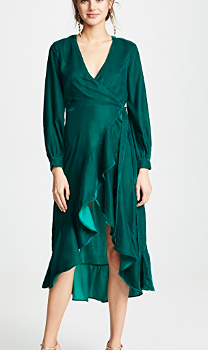 Casa Estrella Josephine Wrap Dress