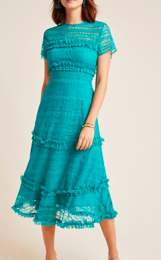 Vone Dashing Lace Midi Dress